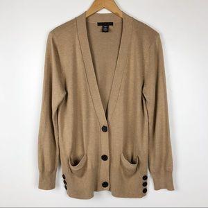 Apostrophe Khaki Women's Cardigan Sweater XL